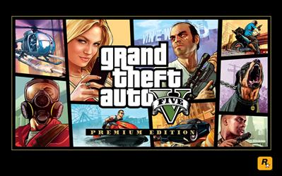 Grand Theft Auto V: Premium Online Edition cover
